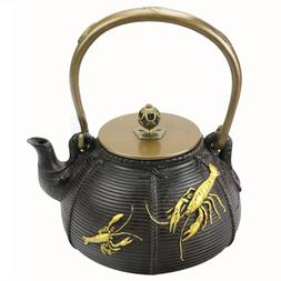 1.4 L Chinese <font><b>Tea</b></font> Pot Handmade Iron Wate