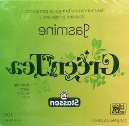 1 Box, Stassen Jasmine Green Tea 5.28 Oz / 150 g - Quality N