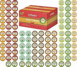 Cha4TEA 100 Keurig K-Cup Tea Variety Sampler Pack K Cups, Mu