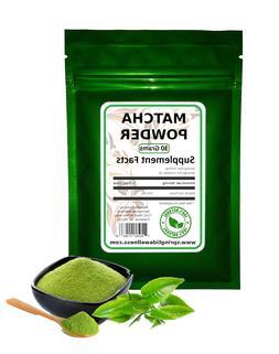 100% Natural Herbal MatchaGreen Tea Powder - Shipped from