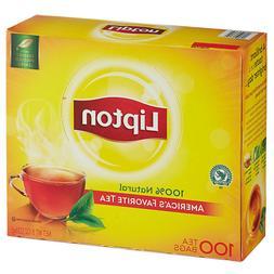 100% Natural Lipton Signature Black Tea and Pure Green Tea B