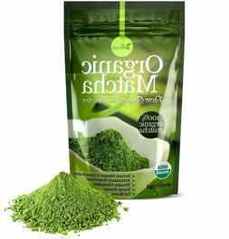 Organic Matcha Green Tea Powder - 100% Pure Matcha  4oz