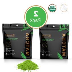 100 percent usda organic matcha green tea