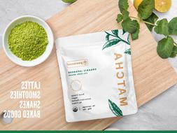 🍵100% USDA Organic Matcha Green Tea Powder - PURE Japanes