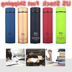 17oz Coffee Travel Mug Tea Stainless Steel Vacuum Flask Wate