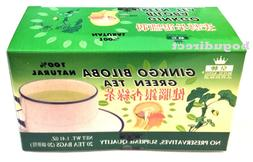 2 Boxes Royal King 100% Natural Herbal Ginkgo Biloba Green T