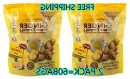 2 Prince of Peace - Instant Ginger Honey Crystals Tea lemon