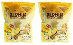 2 Pk Prince Of Peace-Instant Ginger Honey Crystals Tea Lemon