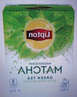 2 X Lipton Green Tea with Pure Matcha Tea, 15 Count