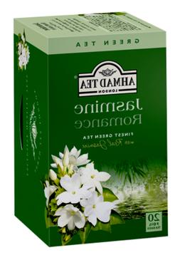 Ahmad Tea - Jasmine Romance Flavoured Green Tea 20 Bags - 40