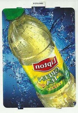 Lipton Green Tea 20oz Bottle Large Selection Button Label Di