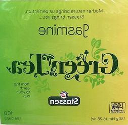 24 Boxes, Stassen Pure, Jasmine Green Tea, 100 Tea Bags, Qua
