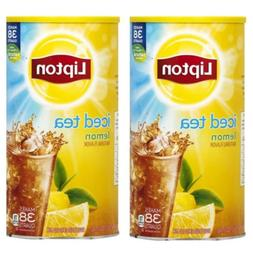2PACK Lipton Lemon Iced Tea with Sugar Mix