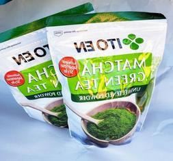 2x Ito En Matcha Green Tea Unsweetened Powder Authentic Japa
