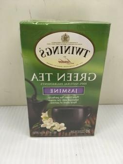 4 pack of Twinings Of London Green Tea Jasmine - 20 Bags Eac
