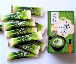 40 sticks Kyoto Tsujiri Matcha Milk Green Tea Latte Uji Japa