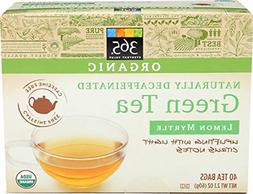 40 Tea Bags Organic Decaffeinated Green Tea With Lemon Myrtl