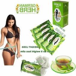 50 BAGS SLIMMING CHINESE GREEN TEA HERBAL BURN FAT DIET WEIG