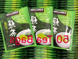 50 Tea Bags ~ Kirkland Signature's Japanese Green Tea Bags S