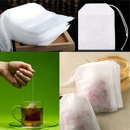 500X non-woven Empty Teabags String Heat Seal Filter Paper H