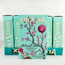 6 boxes green tea with ginseng
