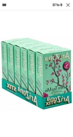 6 Boxes Arizona Green Tea with Ginseng and Honey Mix  0.07oz