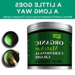 70g Japanese GMA Organic Matcha Green Tea Powder USDA 2.46 o