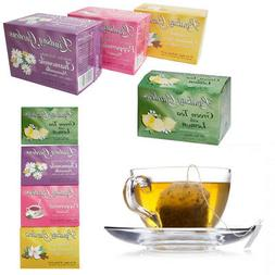 72 Set Tea Bags Sampler 100% Premium Flavor Herbal Chamomile