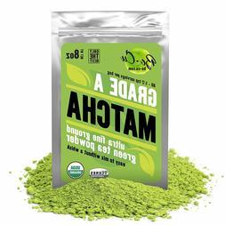 80 Servings, Best Organic Matcha Green Tea Powder for Drinki