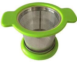 Best Tea Infuser & Filter For Loose Tea, BONUS Silicone Line