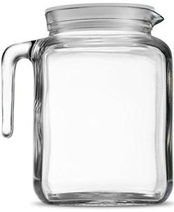 Bormioli Rocco Hermetic Seal Gl Pitcher With Lid And Spou