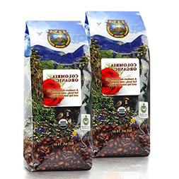 Java Planet - Colombian USDA Organic Coffee Beans, Fair Trad