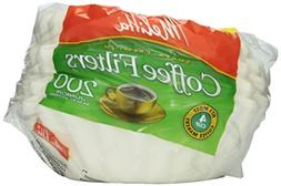 Melitta Basket Coffee Filters White 200 Count