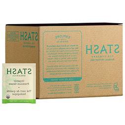 Stash Tea, Organic Premium Green Tea, 100 Count Box of Tea B