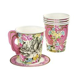 Talking Tables Truly Alice Mad Hatter Cup & Saucer for a Tea