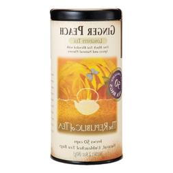 The Republic of Tea Ginger Peach Black Tea, Caffeinated