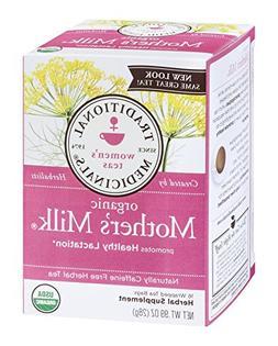 Traditional Medicinals - Organic Mother's Milk Tea - 16 Tea