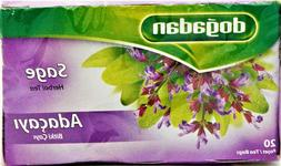 Dogadan Adacayi Sage Herbal Tea 20 Tea Bags