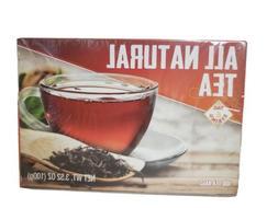 All Natural Tea Individually Wrapped Tea Bag 100 CT