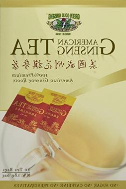 American Ginseng Tea, BEST American Ginseng Tea, 20 Tea Bags