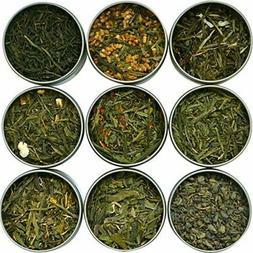 Heavenly Tea Leaves Assorted Green Tea Sampler, 9 Count