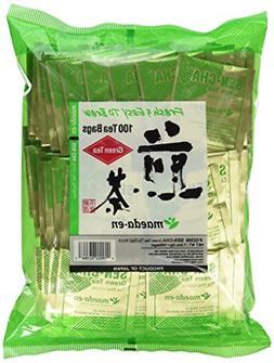 Authentic Maeda-en Japanese Sencha Green Tea - 100 Foil-Wrap