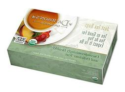 Davidson's Tea Bags, Organic South African Green Rooibos, 10