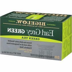 Bigelow Earl Grey Green Tea, 20-Count Boxes