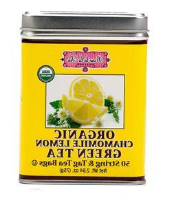 Brew La La Organic Chamomile Lemon Green Tea