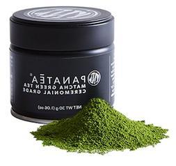 PANATEA Ceremonial Grade Matcha Green Tea Tin 100% Pure Japa
