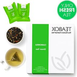 Teabox Chamomile Green Tea, 16 Tea Bags