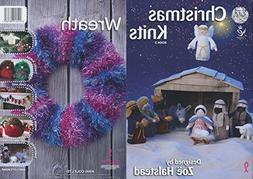 King Cole Christmas Knits Book 3 - Nativity Scene Festive Xm
