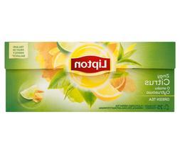 Lipton Citrus Twist Lemon, Lime & Orange Flavored Green Tea