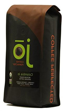 COLOMBIA JO: 12 oz, Organic Ground Colombian Coffee, Medium